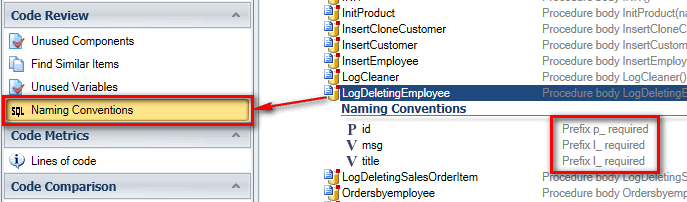 view naming conventions on single Oracle DB object