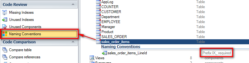 view naming conventions on single SQL Server DB object