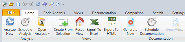 New Ribbon Menu in Visual Expert 2017 Enhanced UI