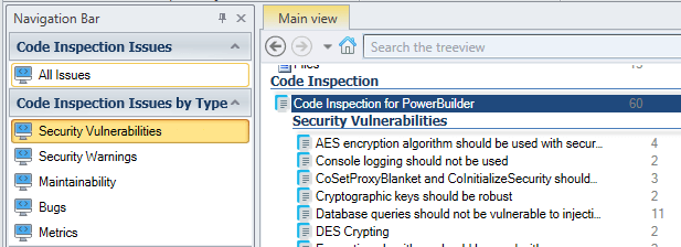 Select Security Vulnerabilities