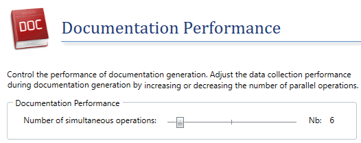 Adjust the resources allocated to the doc generation process