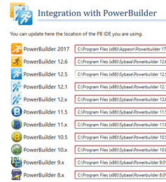 Visual Expert supports PowerBuilder 2017