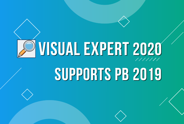 Visual Expert 2020 Support Update for PB 2019 Objects