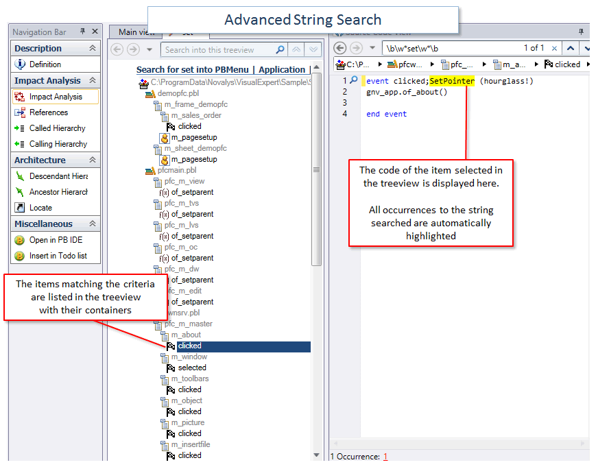 Advanced String Search