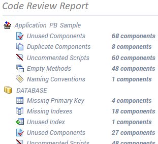 Visual Expert Code Review Reports