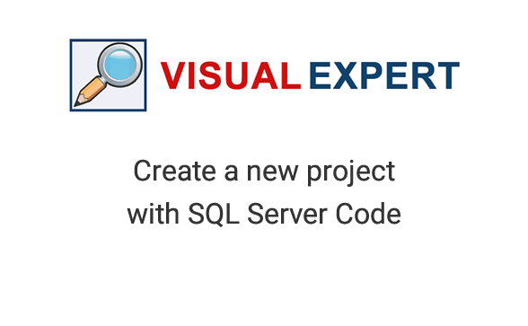 How to create a Visual Expert for Oracle Project